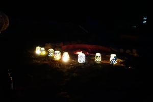 Sommerlager der Wölflinge 2018 <br/>In der Nacht leuchten sie umso schöner