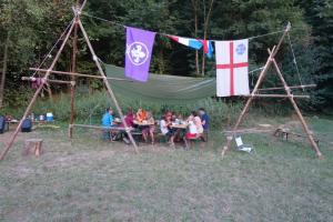 Sommerlager der Wölflinge 2018 <br/>Frühstück