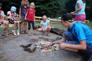 Sommerlager der Wölflinge 2018 <br/>Schokobananen