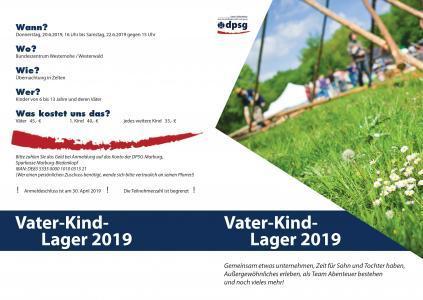 Vater-Kind-Lager 2019<br/>