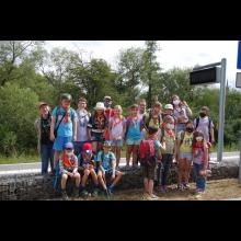 Wölflingsaktion im Tierpark Frankenberg<br/>Gruppenfoto