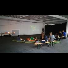 Pfadiaktionen in den Sommerferien<br/>Dritte Aktion - Filmabend
