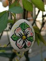 Osteraktion 2021<br/>Blume auf Ei