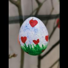 Osteraktion 2021<br/>Blumen auf Ei