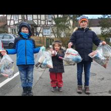 Schnitzeljagd der Cappeler Wö-Gruppen<br/>So viel Müll haben wir gesammelt!