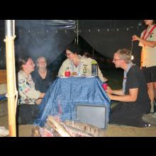 Sommerlager 2021 der Pfadis und Rover<br/>Rominas wilde Hände